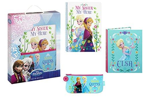 Disney La Reine des neiges – Ensemble Cadeau 3 pièces 28 x 35 cm (SAFTA 311515587)