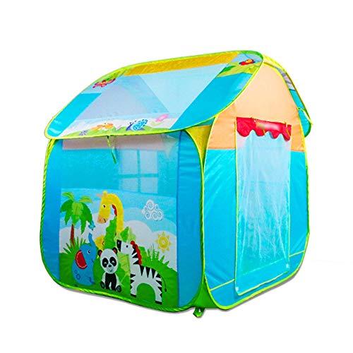 LY Kids Play Tentes Tente Intérieur Tente pliante for enfants Game House En plein air Grande maison Voyage en famille Tente for enfants Espace secret Paradis-Centre d'activités Centre d'activités