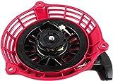 Arrancador de Retroceso de Repuesto Compatible con Generador GC135 GC160 GCV135 GCV160 EN2000 Piezas de Motor 28400-ZL8–023ZA 28400-ZL8–013ZA 284400-ZM0-003 por Poweka