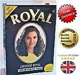 Herbal Base Tinte en Polvo – Color Negro Royal Henna – 60 g
