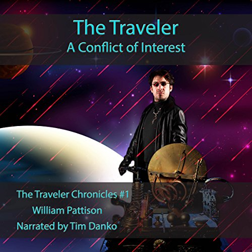 The Traveler: A Conflict of Interest audiobook cover art