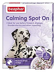 Easy-to-use spot-on treatment for dogs A natural way to calm your pet in stressful situations Product activated within 1 hour of application Model number: 13900 easy-to-use spot-on treatment for dogs a natural way to calm your pet in stressful situat...
