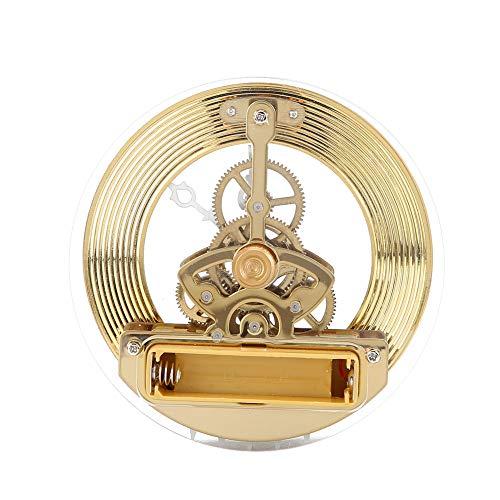 Lente de plástico transparente Reloj de cuarzo con incrustaciones Accesorios de reloj para fabricantes de relojes Ideal para hacer manualidades o reemplazar caras de relojes antiguos