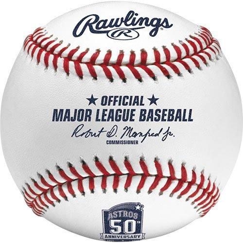 Rawlings ROMLBAST50 2015 Houston Astros 50th Anniver Baseball Offizielles MLB ROMLB