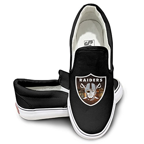 Amone Oakland Raid Canvas Unisex Flat Canvas Shoes Sneaker Black 42