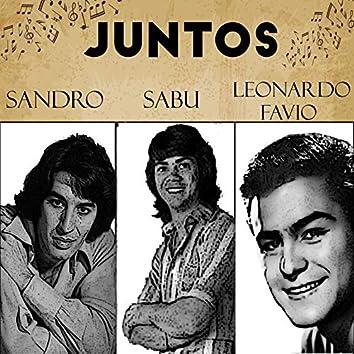 Juntos Sandro-Sabu-Leonardo Favio