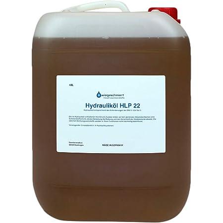 Hydrauliköl Hlp 22 Iso Vg 22 Nach Din 51524 Teil 2 10 Liter Auto