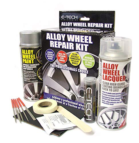 MP Essentials Car Professional Wheel Rim Refurbishment Restore Alloy Wheel Repair Kit for Damage,...