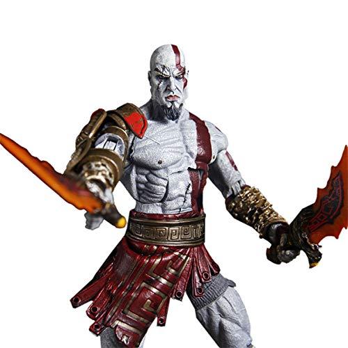 TRK Juego PSP God of War 3 Kratos God of War carácter móvil de la muñeca de Ye Kui Modelo Juego de Escritorio Regalo Decoración