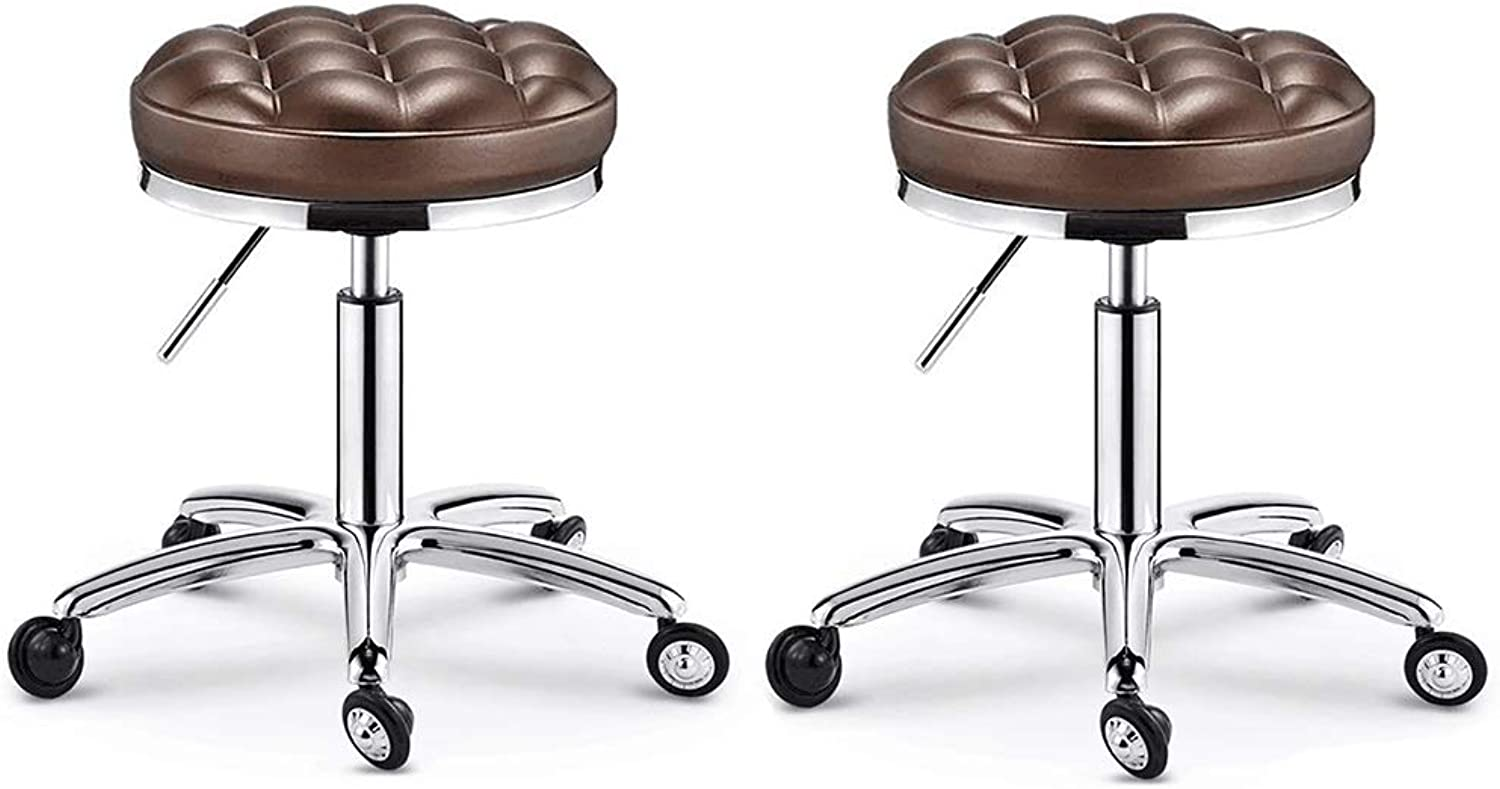 Folding Chair Desk Chair Black Faux Leather Padded Steel with Movable Tablet Arm