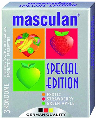 Mascalan condooms Special Edition 3 stuks, per stuk verpakt (1 x 3 stuks)