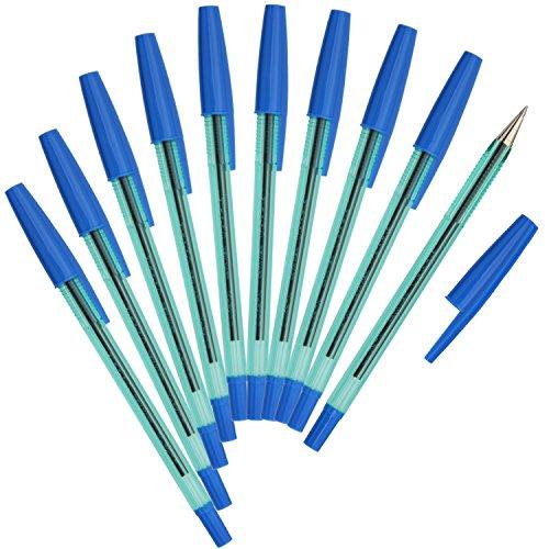ゼブラ 油性ボールペン ニューハードケアS 青 10本 B-BNR2-BL