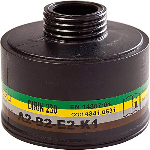 KAYSER GmbH Kombifilter Dirin 230 A2 B2 E2 K1 gegen Dämpfe u.Gase/Schwefeldioxid
