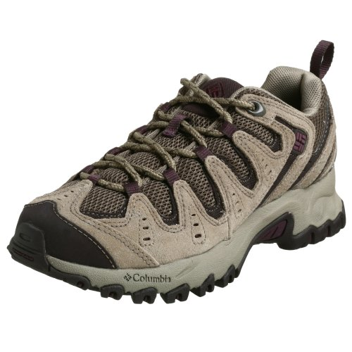 Columbia Women's BL3428 Beartooth S8 Hiking Shoe,Mud/Vino,8 M
