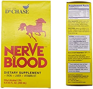 Dr Chase Nerve Blood Dietary Supplement 6.8 oz