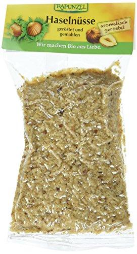 Rapunzel Haselnüsse geröstet, gemahlen, 2er Pack (2 x 125 g) - Bio