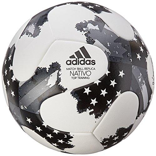 adidas MLS Top Training NFHS Bola - B00S0OBHBE, Blanco/Plateado metálico/Negro
