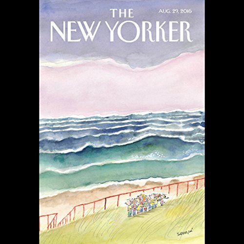 The New Yorker, August 29th 2016 (Vinson Cunningham, Ed Caesar, Adam Gopnik) audiobook cover art