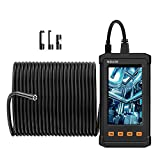 50FT NIDAGE Inspection Camera, 1080P HD Industrial Endoscope Borescope Camare with 4.3inch IPS