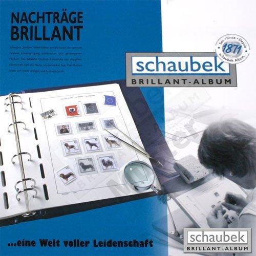 Schaubek Automatenmarken Deutschland/18 Felder Brillant - Blanko ATM-643/18DB