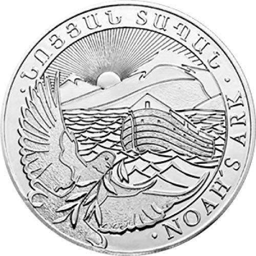 Silbermünze 1/4 Unze Arche Noah, 2020, Neu, in Münzhüllen, ab 2 Stück in Münzkapseln, Differenzbesteuert nach § 25a UstG