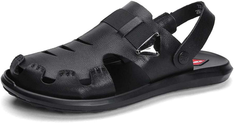 Flip-Flops Outdoor-Sport Sandalen Sommer Sandalen Mnner tragen Herren Strandschuhe weiche Herren Hausschuhe Baotou Sandalen Hausschuhe