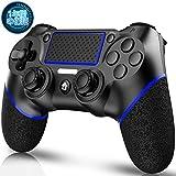 PS4 コントローラー ワイヤレス TECKLINE PS4 ワイヤレス ゲームパッド PS4 Pro/Slim PC Win10対応 無線 Bluetooth 人体工学 二重振動