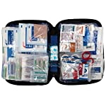 First aid only all-purpose medical first aid kit, 320 pieces emergency kit of first aid supplies 15 contains 299 essential first aid supplies for treating minor aches and injuries clear plastic liner in nylon case for organization and easy access to first aid supplies in an emergency soft sided, zippered case ideal for home, travel and on the go use