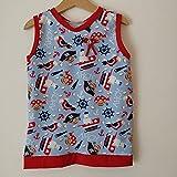 Sommerkleid maritim Kinder,Handmade Größenwahl,Fuchs, Kinderhosen, Baumwolle