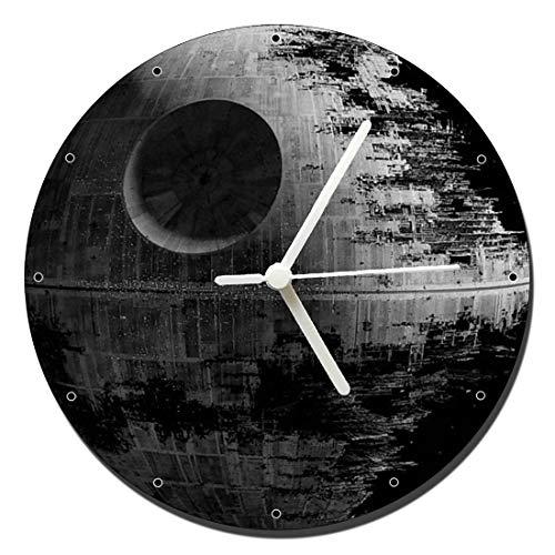 MasTazas Star Wars Death Star Wanduhren Wall Clock 20cm