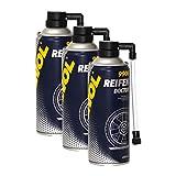 3X MANNOL 9906 Reifen Doctor Reifendichtmittel Pannenhilfe 450ml