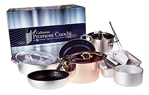 Pentole Agnelli Set Collezione Promessi Cuochi, Alluminio