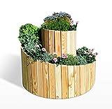 Koll Living Garden Kräuterspirale aus Lärche -...