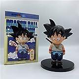 YIGEYI Dragon Ball Z Kid Goku Niñez Anime Acción Figura 12 cm Figuras de PVC Figuras Coleccionables ...