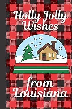 Holly Jolly Wishes From Louisiana  Season Greetings From Louisiana Holiday Greetings   Let It Snow   Merry Christmas   Snow Globe Gift   December 25th   Secret Santa   North Pole   Spread Cheer