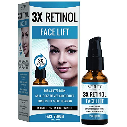 SCULPT 3X Retinol Face Lift Serum 1oz / 30ml