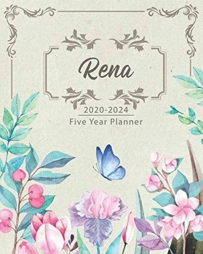 RENA 2020-2024 Five Year Planner: Monthly Planner 5 Years January - December 2020-2024   Monthly View   Calendar Views   Habit Tracker - Sunday Start
