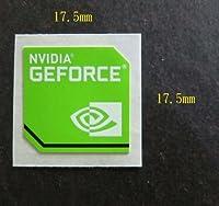 NVIDIA GEFORCE エンブレムシール 17.5mm x 17.5mm