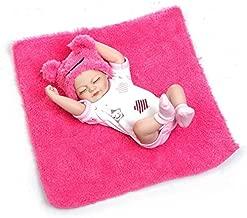 Pinky 26cm 10 inch Mini Full Body Hard Vinyl Silicone Reborn Baby Girl Doll Newborn Dolls Xmas Birthday Present