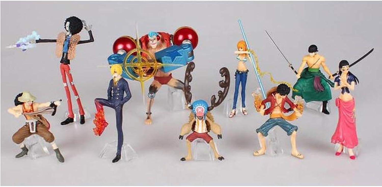 QYSZYG giocattolo Statue giocattolo modello autotoon Character Collection Souvenir Regalo di Compleanno   9 Set