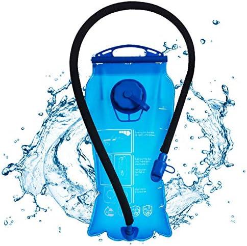 Hydration Bladder 3 Liter UBEGOOD Leak Proof Water Reservoir Double Opening Water Bladder for product image