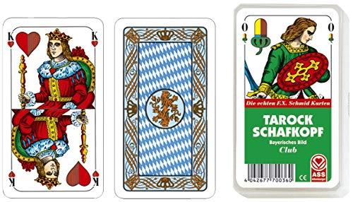 ASS Regionale Spielkarten - Schafkopf/Tarock (bayrisch)