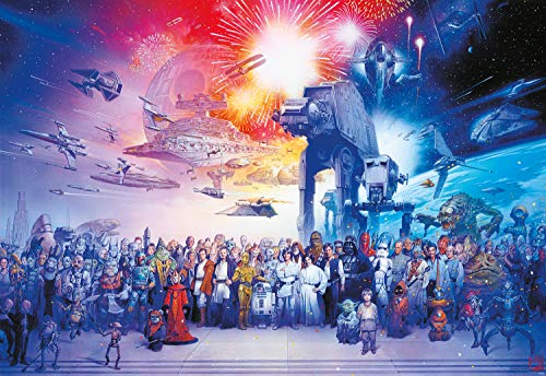 Buffalo Games Star Wars 2000-Piece Jigsaw Puzzle  $14 at Amazon