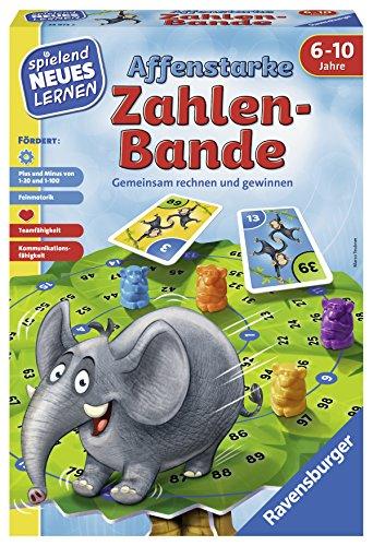 "Ravensburger 24973"" Affenstarke Zahlen-Bande Lernspiel, bunt"