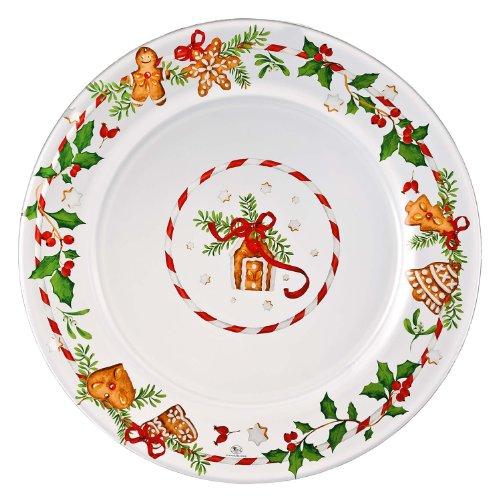Hutschenreuther 02549-725492-45040 Weihnachtsleckereien Glas-Platzteller 32 cm