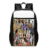 Fairy-Tail - Mochila para niños, mochila escolar, mochila para portátil para niños, niñas, niños, adolescentes, aficionados al juego, regalo