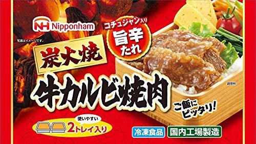 【冷凍】日本ハム 炭火焼牛カルビ焼肉 X6袋