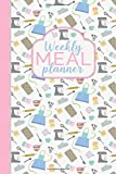 Weekly Meal Planner: 52 Weeks of Meal Planning Pages and Weekly Grocery List and Special Celebration/Holiday Planning Pages - Cute Kitchen Utensil Design