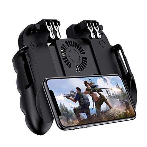 ZHANGXJ Wireless Controller H9 Six Finger PUBG Game Controller Gamepad Trigger-Shooting Free Fire Lüfter Gamepad Joystick Für Ios Android-Handy
