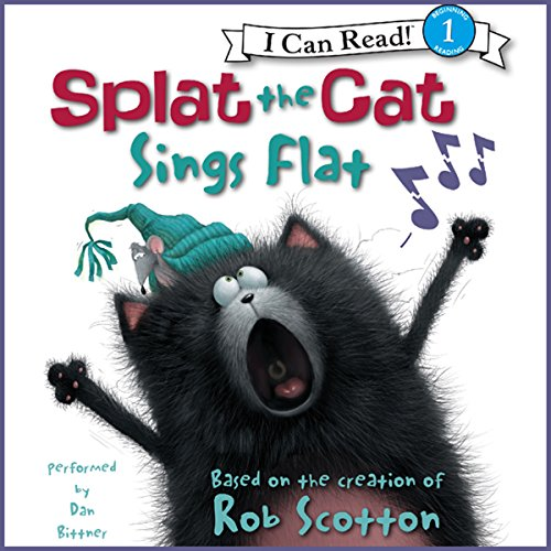Splat the Cat: Splat the Cat Sings Flat audiobook cover art